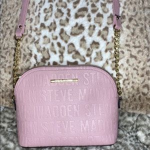 Steve Madden Leather Light Purple Purse
